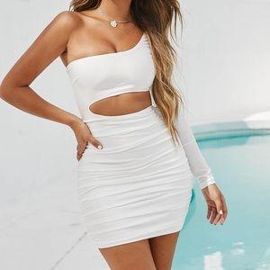 Tiger Mist - Sammi Dress in white